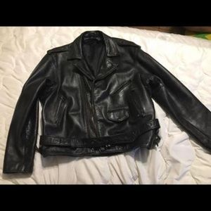 Other - Men's leather jacket Size XL